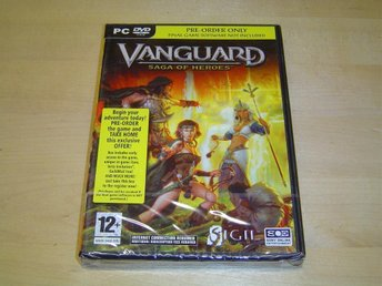 VANGUARD SAGA OF HEROS FÖRHANDSVERSION PC CD-ROM *NYTT*