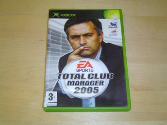 TOTAL CLUB MANAGER 2005 TILL XBOX *NYTT*