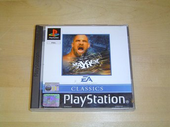 WCW MAYHEM TILL SONY PLAYSTATION NYTT