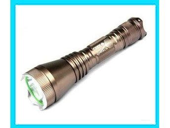 NYA! Super Bright  5-Mode CREE XM-L XML T6 LED Ficklampa