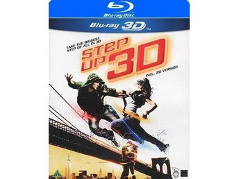 Step Up 3 (3D Blu-ray inkl. 2D Version) - Helt nytt och inplastat!!!