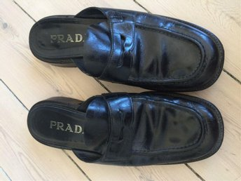 Prada loafers tofflor
