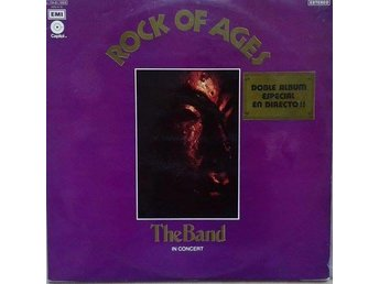 The Band  titel*  Rock Of Ages, The Band In Concert* 2 × LP
