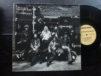 ALLMAN BROTHERS BAND - Live Fillmore east DLP  Capricorn Tyskland