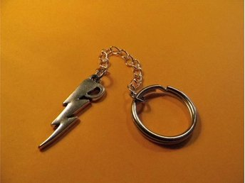 Blixt nyckelring / Lightning flash keyring