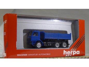 Herpa H0 1:87 nr 862003 Scania lastbil - Halmstad - Herpa H0 1:87 nr 862003 Scania lastbil - Halmstad