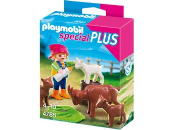 Barn m. Getter o Flaska, Bondgård (Playmobil 4785, Special Plus) Ny