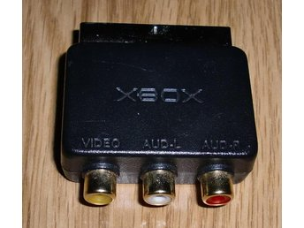 Xbox: Scart adapter original