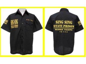 SHIRT: SING SING STATE PRISON (Str 4XL) - Udon Thani - SHIRT: SING SING STATE PRISON (Str 4XL) - Udon Thani