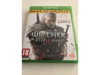 The Witcher 3. Game of The year edition. Xbox one