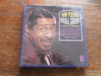 ERROL GARNER - Now Playing, REEL-TO-REEL RULLBAND MGM USA 1965 NY!