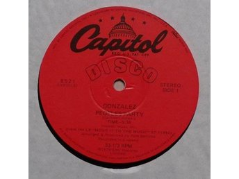 "Gonzalez title* Peoples Party / Ain't No Way To Treat A Lady* Disco 12"" US"