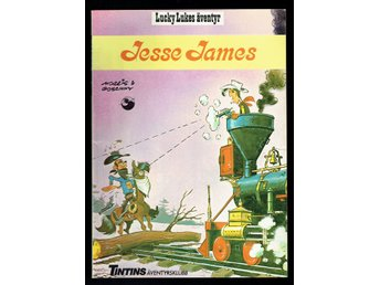 Lucky Lukes äventyr - Jesse James - 1985