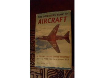 THE OBSERVER'S BOOK OF AIRCRAFT  WILLIAM GREEN & GERALD POLLINGER  1960 EDITION