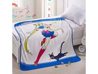 Anime Sailor Moon:Moon & Luna Mjuk Varm 150x120cm Blanket