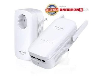 AV1200 Gigabit Powerline ac Wi-Fi KIT Twin Pack(1 x TL-PA8010P & 1 x TL-WPA8630)