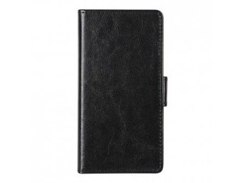 Essentials Booklet Cover Sony Xperia X w/card holder Blk