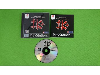 The Ultimate Martial Arts Simulation KOMPLETT PSone ps1