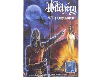 Witchery -Witchburner VERY RARE original 1999 promo poster
