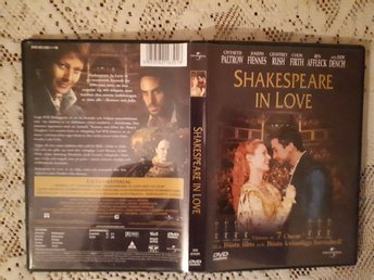 Shakespear in love dvd