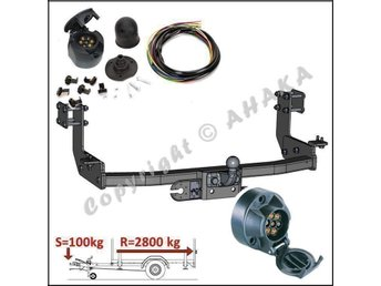 Komplett Dragkrok Mercedes Sprinter W901-905 L=3050mm 2T/3T 1995 - 2006
