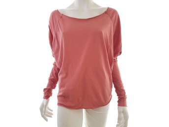 Hunkydory Long sleeve Blouse Size S Pink 100% Cotton Sweden