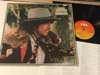 "BOB DYLAN desire LP -75 Hol CBS 86003 ""one more cup of coffee"""