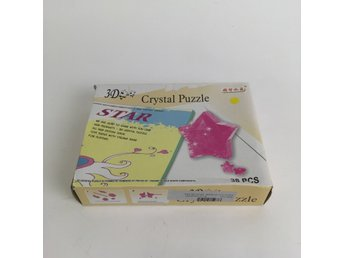 Pussel, Crystal Puzzle, 38pcs, Gul