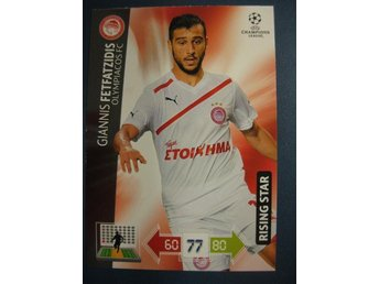 RISING STAR -  GIANNIS FETFATZIDIS -  OLYMPIACOS - CHAMPIONS LEAGUE 2012-2013
