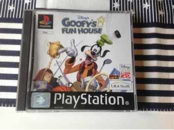 Goofys Fun House - Playstation 1 - PS1 - Goofy's