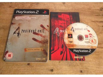 Resident Evil 4 Steelbook Edition - Playststion 2 - PS2 - Capcom