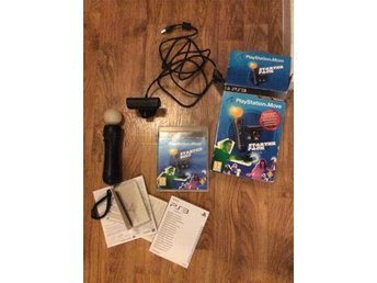 PlayStation Move startpaket m. Eye camera Kontroll & Spel PS3