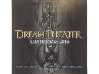 Dream Theater - The Astonishing. Oslo 28/2-2016. Live. 2-CD.