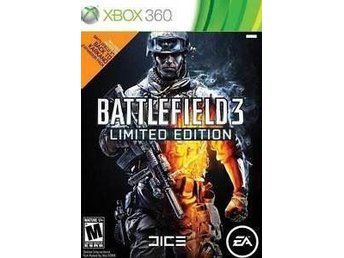 AKUT KRIS AUKTION - Battlefield 3 - Limited Edition Xbox 360