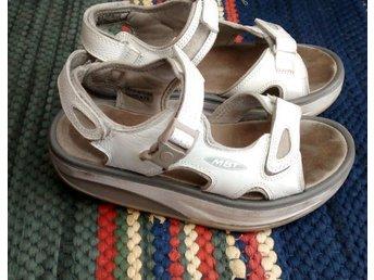 Riktiga MBT sandaler Swiss Stl Eur 37 / UK 4 - Johanneshov - Riktiga MBT sandaler Swiss Stl Eur 37 / UK 4 - Johanneshov