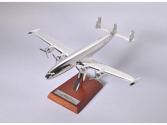 Atlas Editions Lockheed L-1049 Super Connie - 1/200 scale - silver-plated!