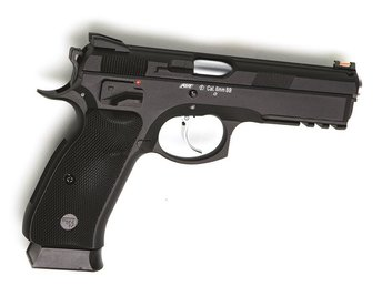 CZ 75 med extra magasin.   * air soft  *  * soft air gun *