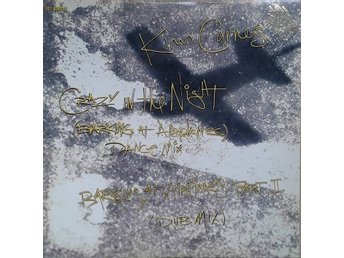 "Kim Carnes title* Crazy In The Night (Barking At Airplanes)* Synth-pop 12"" US"