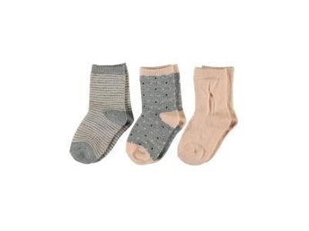 Merinoull från Name It 3-pack strumpor st 28-30