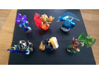 Skylanders Trap Team figurer, 6st.