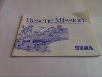 Master System: Manual: Rescue Mission