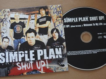Simple Plan - Shut Up CD Single 2004