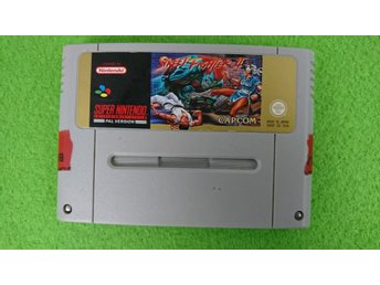 Street Fighter 2 SCN Super Nintendo Snes