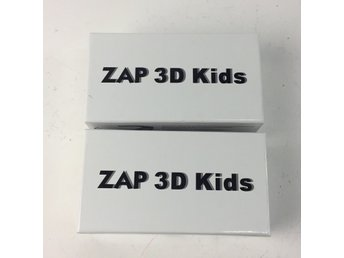 ZAP 3D Kids, 3D-glasögon, Strl: One Size, Svart