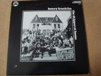Henry Franklin Ovanlig Lp The Skipper At Home En U.S Utgåva Från 1974