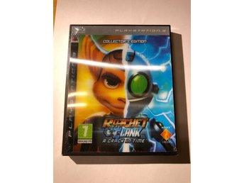Ratchet & Clank: A crack in time Collectors edition (Inplastat Ps3)