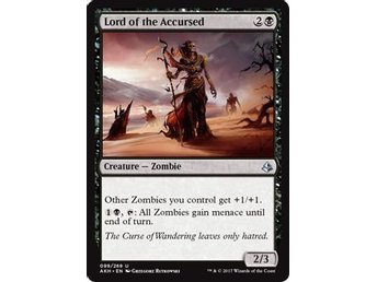 MtG, Lord of the Accursed, Amonkhet