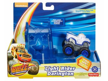 Blaze och Monstermaskinerna  Light Rider Rider Darington