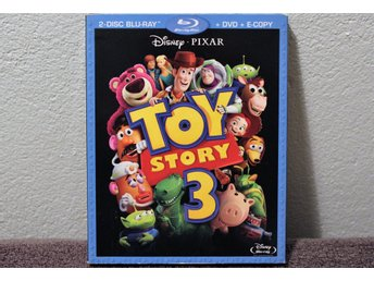 TOY STORY 3  2 DISC  BLU-RAY + DVD + E-COPY