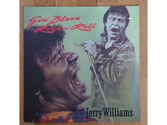JERRY WILLIAMS - GOD BLESS ROCK N' ROLL LP